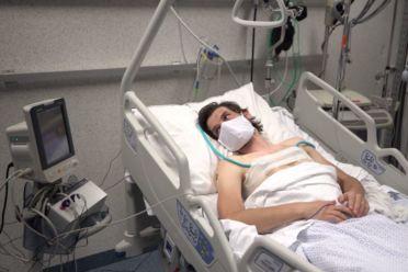 Beeld voor Nieuwe techniek maakt longonderzoek coronapatiënten makkelijker en veiliger