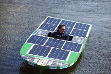 Beeld voor Netwerkevent UAntwerp Solar Boat
